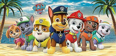 "Paw Patrol 28/"" x 58/"" Kids Beach Bath Pool Towel NWT Coastal Pups"