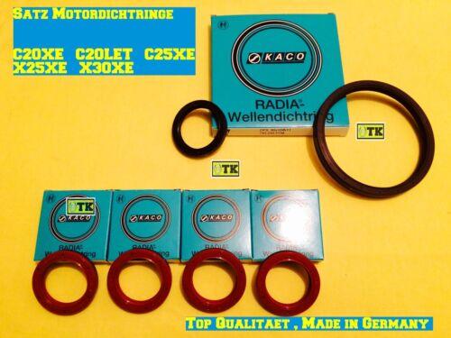OPEL Calibra anello di tenuta boccole albero a camme Albero motore pompa olio c25xe x25xe
