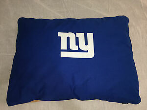 Image is loading NFL-New-York-Giants-Logo-Dog-Bed-Large- 7d231e65c