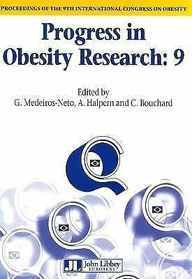 Progress in Obesity Research: 9: Proceedings of the 9th International Congress o