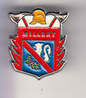 RARE PINS PIN'S .. POMPIER FIRE CASERNE BLASON ARM LION VIGNE MILLERY 54 ~CD