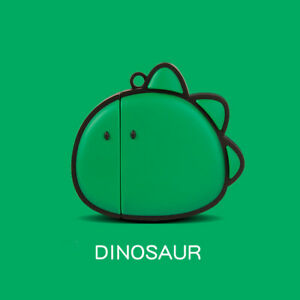 Cute-Green-Dinosaur-3D-Silicone-Case-Cover-For-Airpods-Pro-1st-2nd-Generation