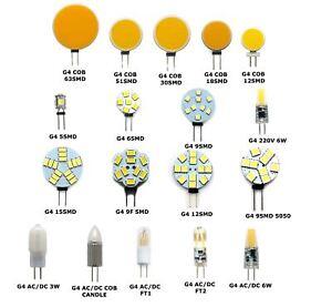 G4-LED-AC-DC-12V-220V-COB-Light-Bulb-Lamp-Car-Boat-Caravan-Direct-Halogen-Rep