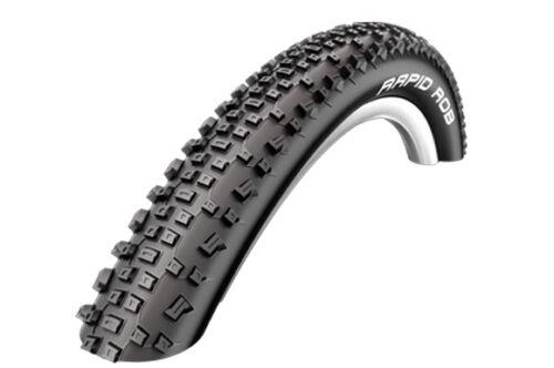 Rigid Mountain Bike Tyre 27.5 x 2.1 Schwalbe Rapid Rob
