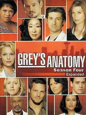 Greys Anatomy ~ The Complete Fourth Season Expanded 5-Disc DVD Set FREE Shipping
