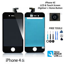 NEW Replacement FOR iPhone 4S 4GS Retina LCD & Digitiser Screen Assembly - BLACK