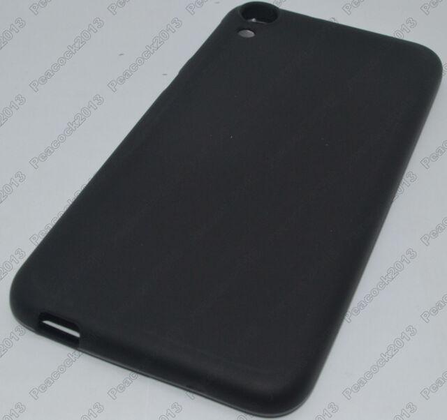 Black Matting TPU Silicone CASE Cover For HTC Desire 820