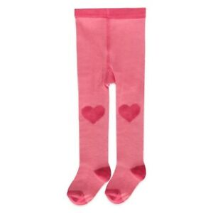 NWT-Carter-039-s-Girl-Pink-Cotton-Sweater-Valentine-039-s-Heart-Knee-Footed-Tights-4-6
