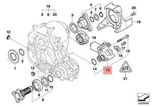 Genuine bmw e60 e61 transfer case actuator motor oem for Bmw transfer case motor