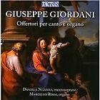 Giuseppe Giordani - : Offertori per canto e organo (2013)