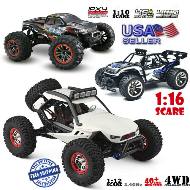 RC Car Off Road Cars High Speed Remote Control Truck Electric Car With Head  Ligh