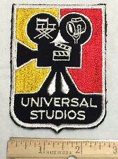 UNIVERSAL STUDIOS Film Movie Camera Souvenir Patch Badge