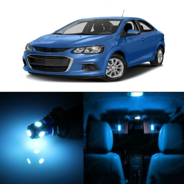13 X Blue Led Interior Light Package For 2012 2017 Chevrolet Chevy