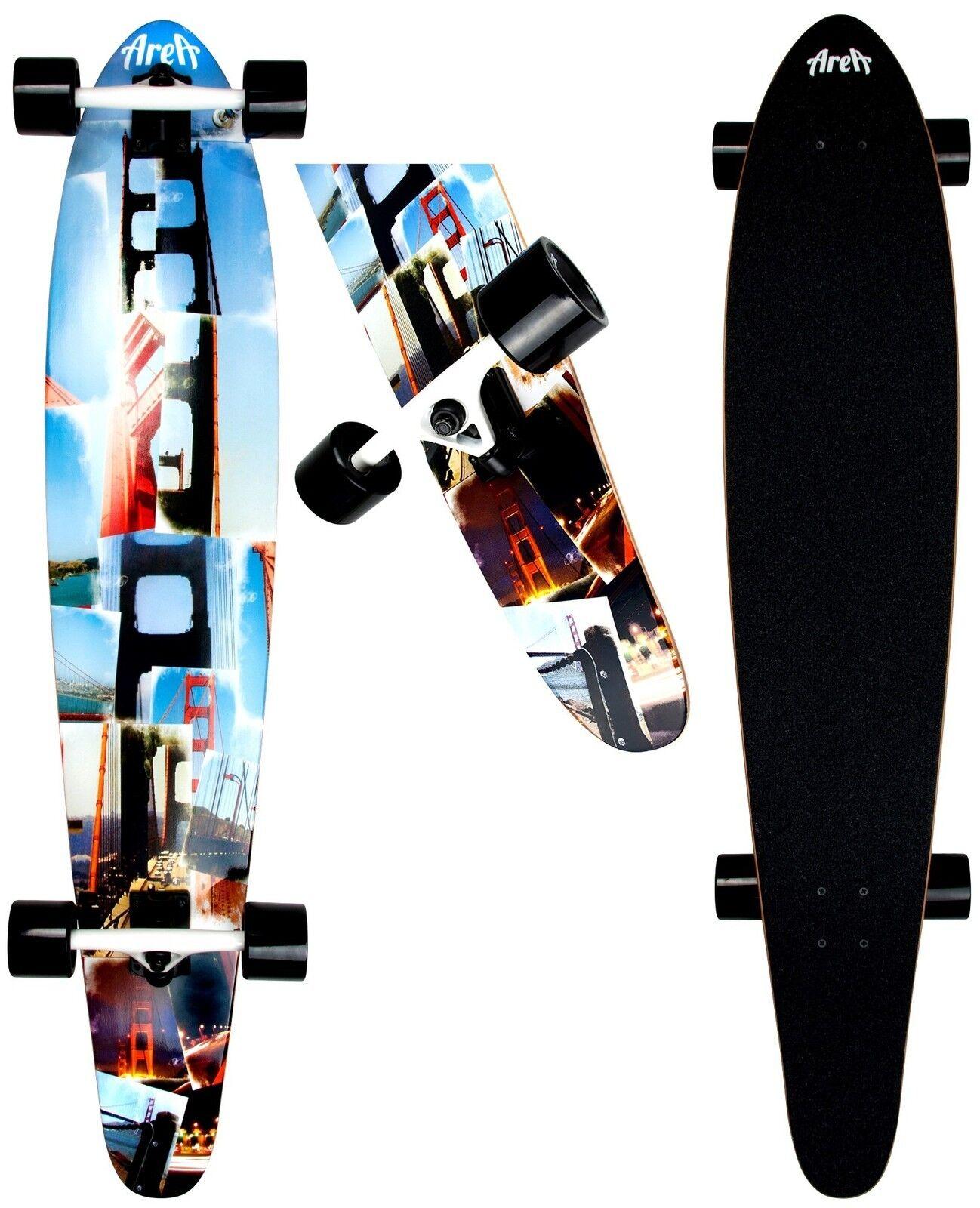 Longboard AREA AREA AREA San Fran Modell  Skateboard Neu de6b26