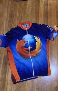 Vintage Rare Mozilla Firefox 4.0 Cycling Jerseys Medium Collectors ...