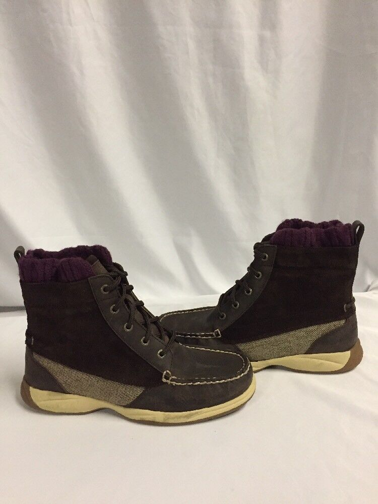 Sperry Top Sider femmes bottes LANGLEY, Summer marron, Taille 6