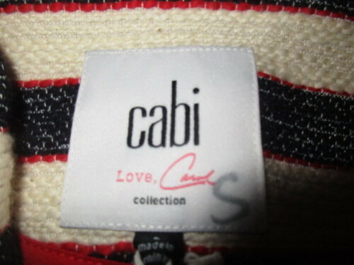 Blazer Cabi W's rouges cruise 6 Nwt W bleues et ~ rayures à 159 Jacket Blazer 8 a4XXYwqr