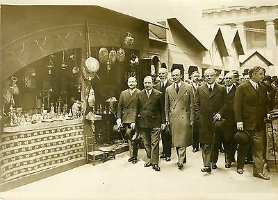 """inauguration Foire Saint-germain 1931"" Photo Originale G. Devred Agce Rol"