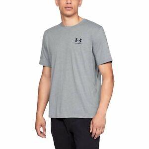 Under-Armour-Herren-UA-Sportstyle-Linke-Brust-Kurzarm-Shirt-T-Shirt-1326799-036