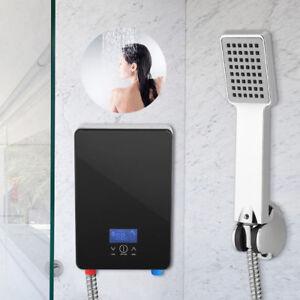 6.6KW Elektronischer Durchlauferhitzer Touch Display Badezimmer mit ...