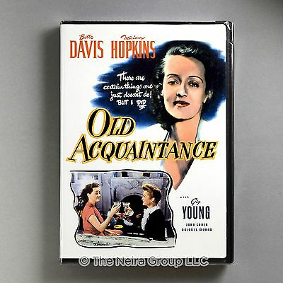 Old Acquaintance DVD New Bette Davis, Miriam Hopkins, Gig Young