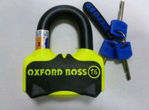 OXFORD-BOSS-16mm-ULTRA-STRONG-MOTORBIKE-DISC-LOCK-SOLD-SECURE-STEEL-LOCK-U-LOCK