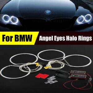 4pcs-6500K-Xenon-White-LED-Angel-Eyes-Halo-Rings-lights-For-BMW-E36-E38-E39-E46