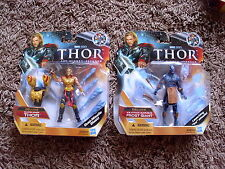 NEW MARVEL THOR & FROST GIANT FIGURE LOT AVENGERS MOVIE UNIVERSE 2 FOR 1 PRICE