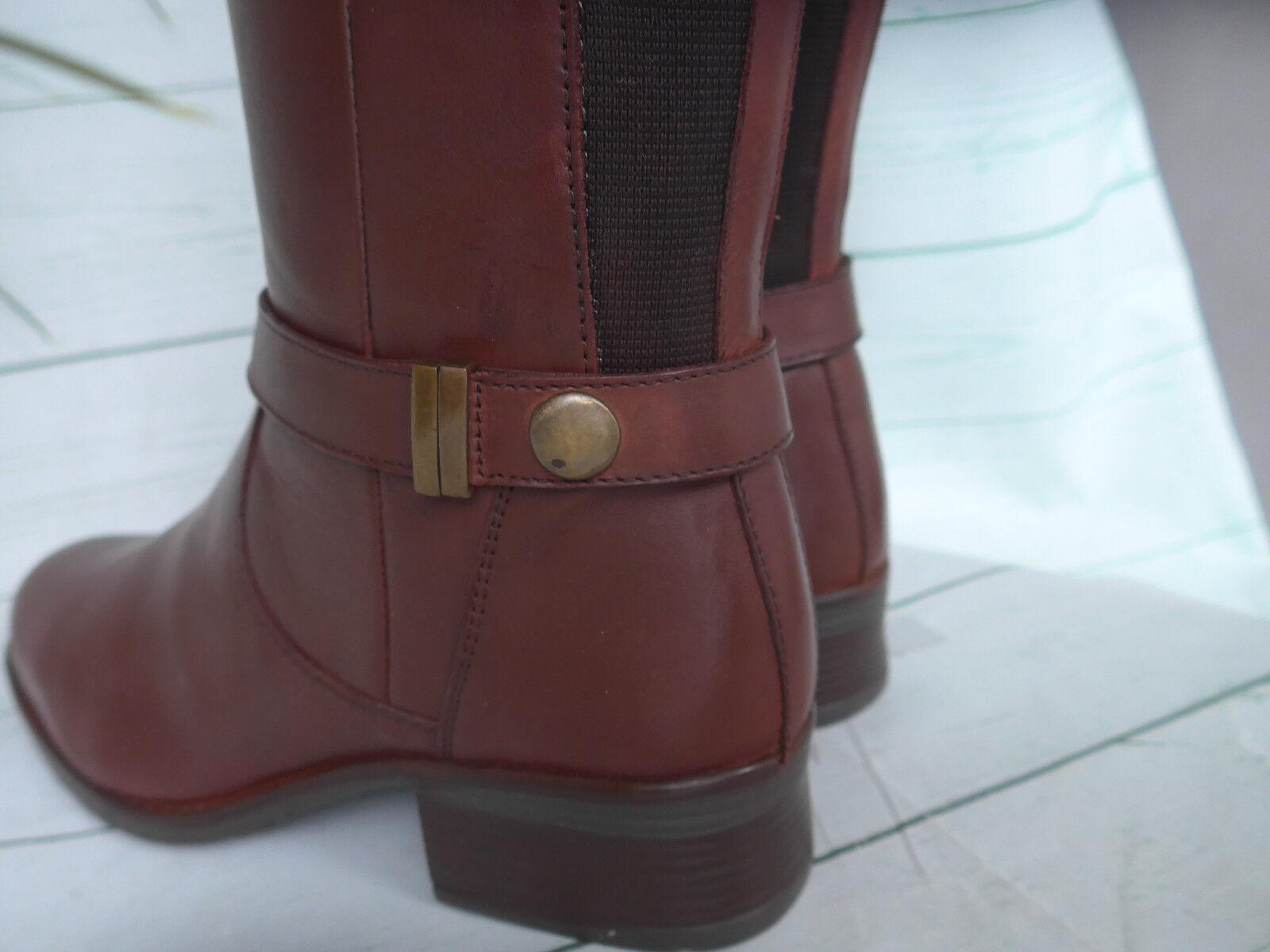 Sheego Stivali da Donna in Pelle XL GAMBALE GAMBALE GAMBALE STIVALI TG. 38 a 44 Marronee Nuovo (598) | Prezzo Pazzesco  | Uomini/Donna Scarpa  25684b