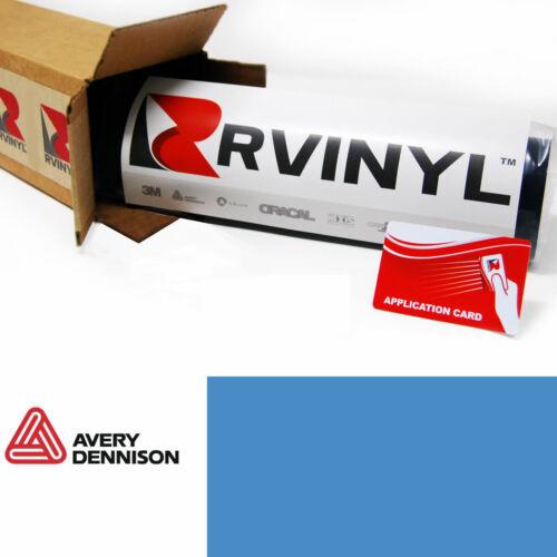 Avery SW900 612-O Gloss Smoky Blue Supreme Wrapping Film Vinyl Wrap Sheet Roll