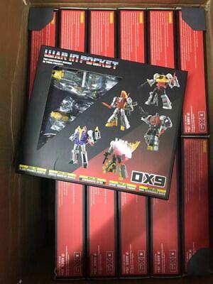 DX9 War In Pocket Dinobot Set X18~22 Bumper Quaker Skyer Thorner Rager in stock