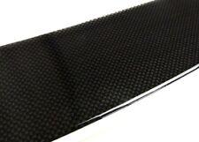 Schutzleiste Carbon Design Glanz Styling schwarz für Heckstossstange