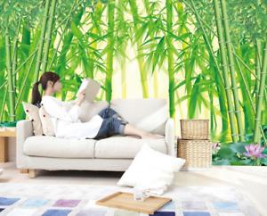 3D Bamboo 4117 Wallpaper Murals Wall Print Wallpaper Mural AJ WALL AU Carly