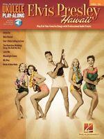 Elvis Presley Sheet Music Ukulele Play-along Book Audio Online 000138199