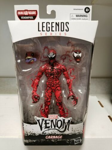 Marvel Legends Venom Carnage Action Figure BAF Venompool IN HAND FREE SHIPPING