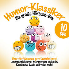 Humor Klassiker Die Hörbuch Box 6CDs