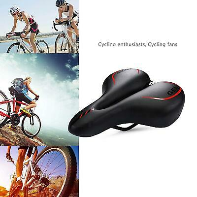 Black Cycling Bicycle Hollow Comfort Saddle Mountain MTB Road Bike Seat Cushion