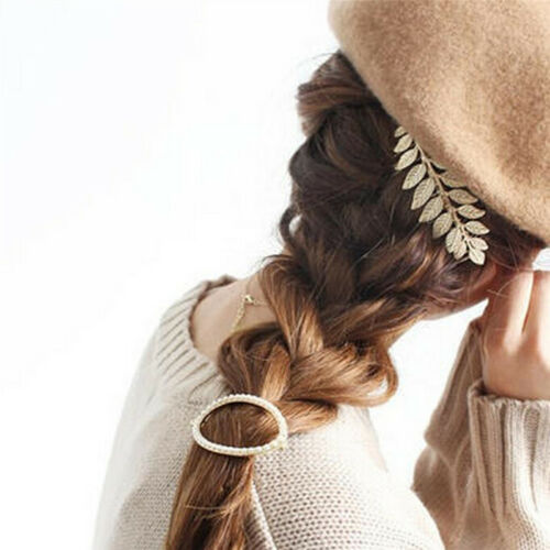 Haarspangen-Haar-Kamm-Haarnadel-Legierung der Frauen verlässt eleganten Kopf  AB