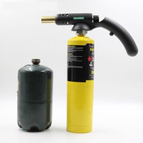 Mapp Gas Self Ignition handle Torch Brazing Solder Propane Welding Plumbing