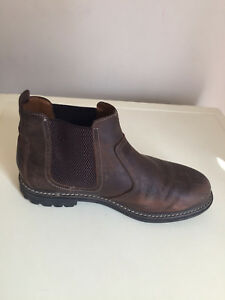 exclusive deals best wholesaler sold worldwide MEN LEATHER BROWN MARKS & SPENCER CHELSEA ANKLE BOOTS SIZE 8 | eBay