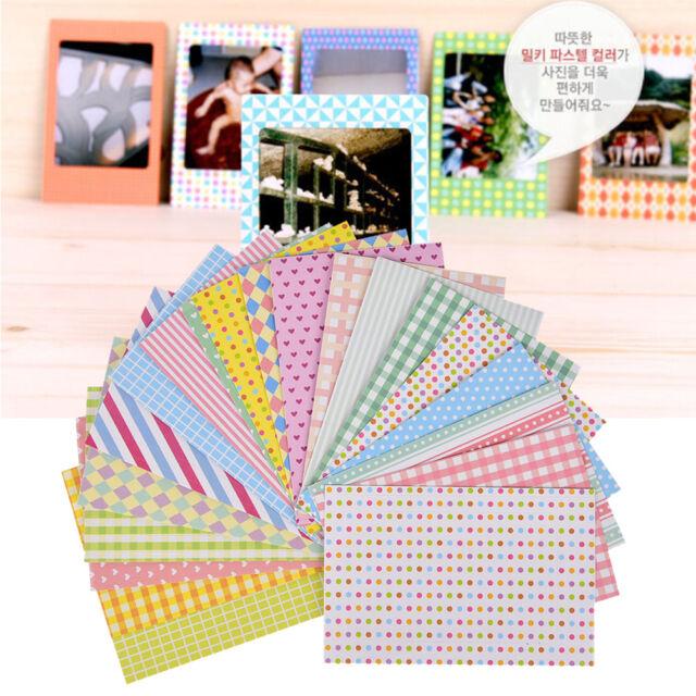 20X Cute Film Photo Book Tape Paper Diary Scrapbook Craft Home Decor Stickers +n