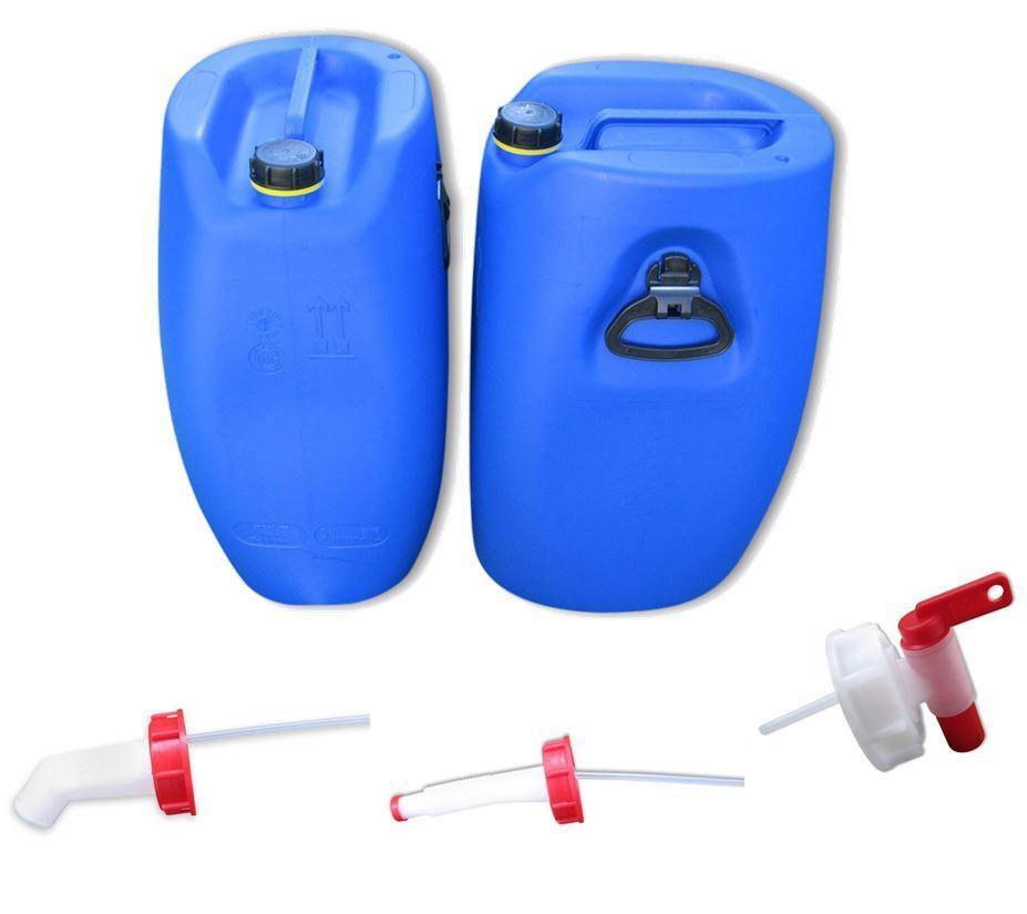 2 x x x 60 L Campingkanister Wasserkanister Kanister Plastekanister Hahn Ausgießer.  | Bekannt für seine hervorragende Qualität  a1e13c