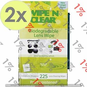 2x-Flents-Wipe-N-Clear-Biodegradeable-Lens-Wipes-225-Count