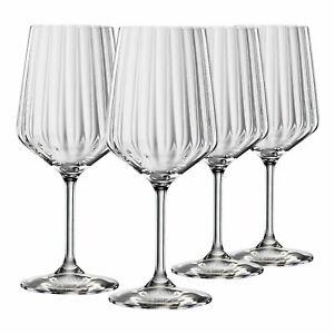 Spiegelau LifeStyle Rotweinglas 4er-Set Weingläser Gläser Rotwein Glas Weinglas