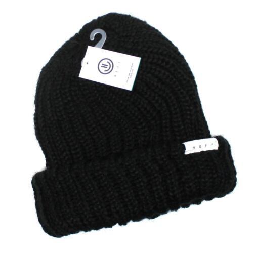 NWT Neff Headwear Fold JINX Black Women/'s Beanie