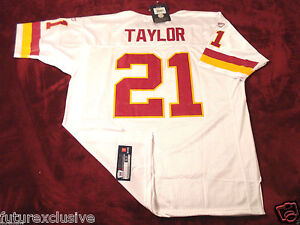 wholesale dealer 8d257 f8805 Details about #21 SEAN TAYLOR WASHINGTON REDSKINS WHITE NFL SEWN JERSEY -  CHOOSE SIZE