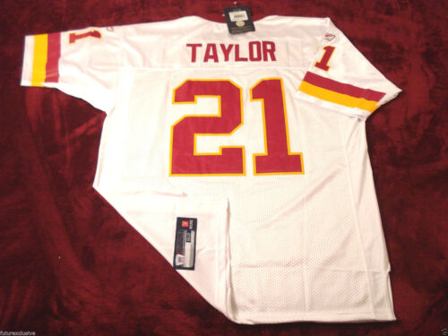 #21 SEAN TAYLOR WASHINGTON REDSKINS WHITE NFL SEWN JERSEY CHOOSE SIZE
