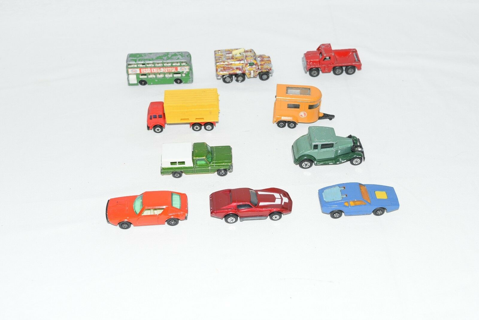 Original Lesney Matchbox Lot of 10....  For Condition - See Pictures (Lot L3)  vente pas cher