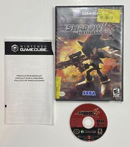 Shadow the Hedgehog (Nintendo GameCube 2005) Black Label, TESTED, No Manual