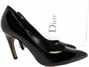 Sz 38 Christian Dior Black Patent